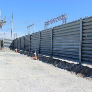 Ideal Utility Services US Steel ballistic barrier
