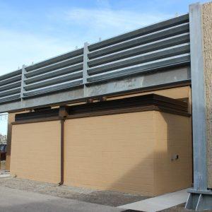 ballistic barrier height extension