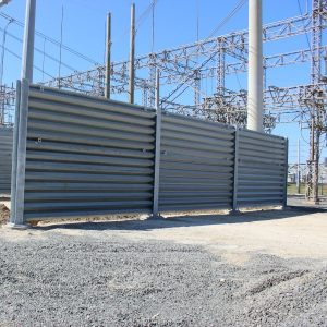 Ideal Utility Services ballistic barrier in Tampa, Florida