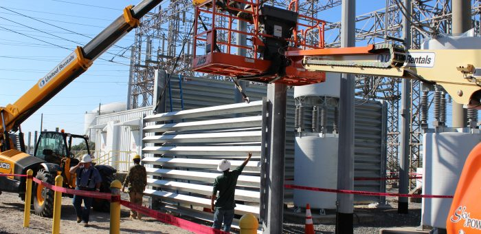 Update: Ideal's First Ballistic Barrier Installation is Moving Along